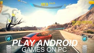 How To Play Android Games on PC Without Bluestacks or Andy
