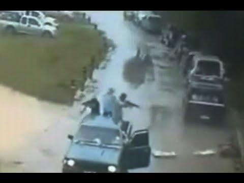 Asesinato ☠ a policia Asesinatos en vivo Tiroteo en calles