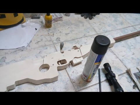 Sniper Rifle Funcional feito de Pvc (Tutorial completo)
