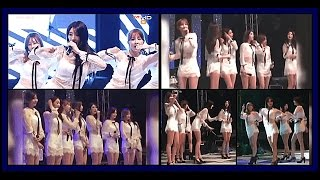 8 สาว Nine Muses โชว์บนเวที แฟนเพลงโรคจิตแอบถ่ายใต้กระโปรง (30-05-59)