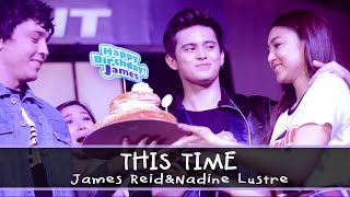 James Reid and Nadine Lustre — This Time [Alabang Town Center Mall Show]