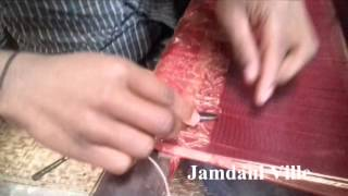 Gorgeous  Wedding jamdani saree weaving