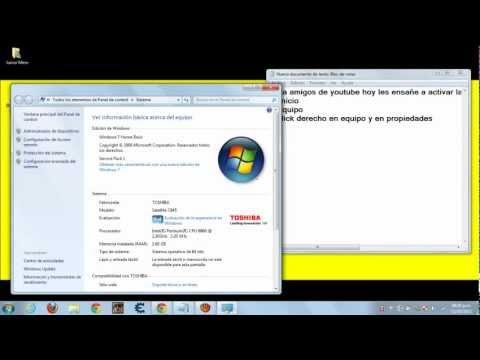 Como Activar la webcam o camara