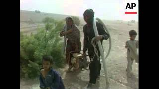 Severe drought hits Iran.