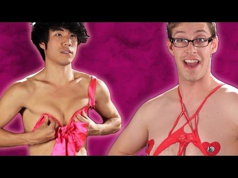 The Try Guys Try Valentine's Day Lingerie