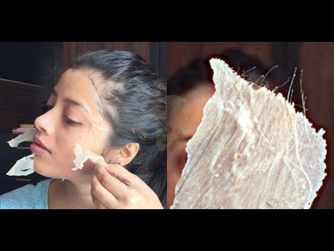 Remove facial hair, blackhead,whitehead at home in JUST 15 Minutes!! | Shweta Makeup&Beauty