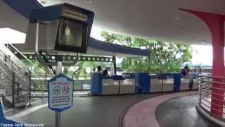 Tomorrowland People Mover On Ride HD POV Magic Kingdom Walt Disney World