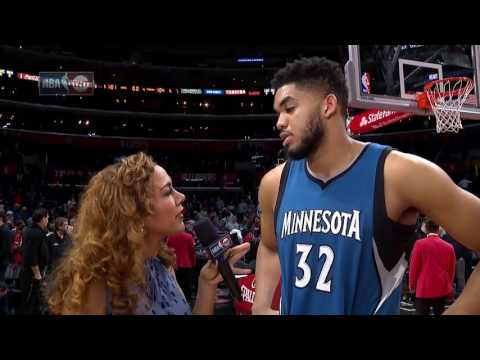 Karl-Anthony Towns Post Game Interview |