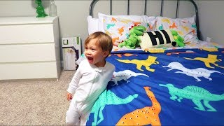 Jackson's New Bedroom Reveal! (WARNING: EXTREME CUTENESS)
