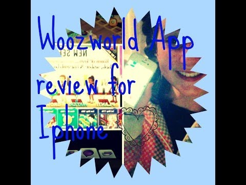Xxx Mp4 Woozworld App Review For An IPhone 3gp Sex