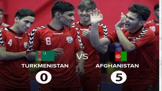 خلاصه بازی تیم ملی زیر بیست سال افغانستان مقابل ترکمنستان