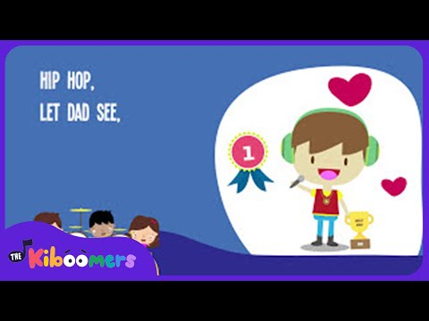 Hip Hop Father s Day Rock Song for Kids Father s Day Songs for Children The Kiboomers