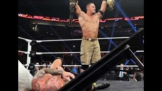 John Cena | Randy Orton Rivarly | WWE RAW | TLC Undisputed Championship 2013