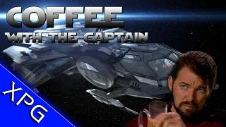 Coffee With The Captain - Star Citizen Stories from the Verse, Face Cam, Squadron