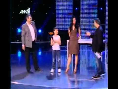 Αλ. Παμπόρη το «Ζεϊμπέκικο της Ευδοκίας» Greece Got Talent