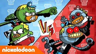 Breadwinners | Robots Contra Breadwinners | Latinoamérica | Nickelodeon en Español