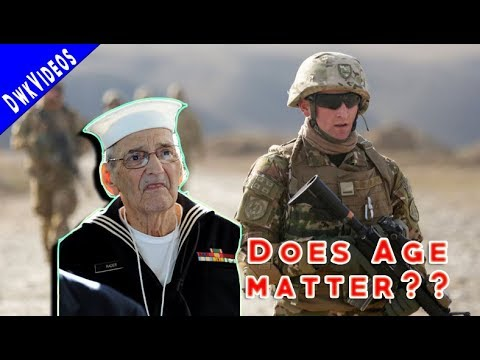 Are You To OLD for Military Service?