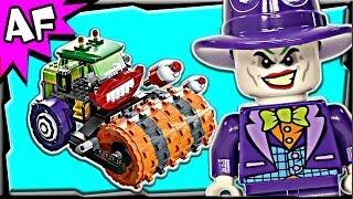 Batman JOKER STEAM ROLLER 76013 Lego DC Super Heroes Stop Motion Build Review