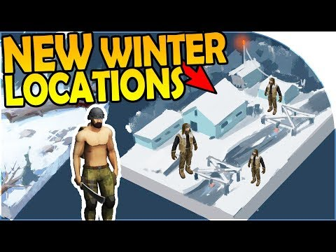 NEW WINTER LOCATIONS - CHOPPER EVENTS + LOOTING - Last Day On Earth Survival 1.5.8 Update