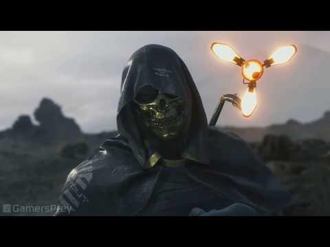Death Stranding - TGS 2018. Человек в золотой маске. Трейлер [HD 1080P]