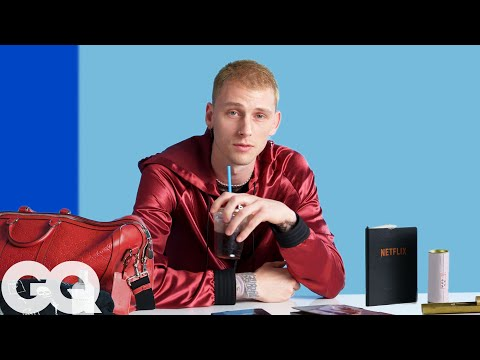 10 Things Machine Gun Kelly Can t Live Without GQ