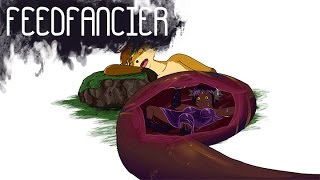 Fox Belly Full of Fennec (Vore Animation)