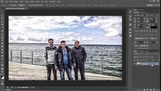تعديل الصور للمبتدئين بالفوتوشوب بفلتري HDR Toning و Camera Raw Photoshop CC