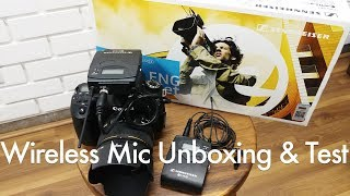 Sennheiser EW112p G3 Wireless Microphone Unboxing & Indoor & Outdoor Test