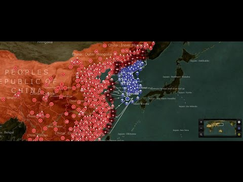 China vs Unified Korea simulation