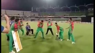 Taskin Ahmed Dance after T20 series win in Style vs Pakistan