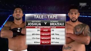 Anthony Joshua vs Dominic Breazeale - Full Fight - HD