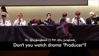 Jungkook talks about IU's drama