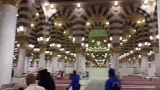 Inside Masjid Nabawi  (SAW) Number 1 Beautiful Place In The World
