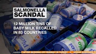World News Today, French Baby Milk Scandal Lactalis to pay compensation