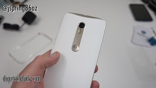 Moto X Pure Edition Unboxing and Impressions