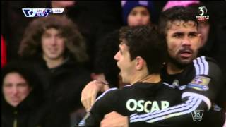 Willian with a brilliant goal vs Crystal Palace 03.01.2016