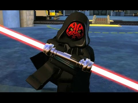 LEGO Star Wars: The Complete Saga Walkthrough Part 4 - Darth Maul (Episode I)