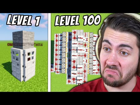 Minecraft Traps from Level 1 to Level 100