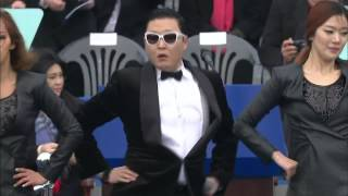 PSY - GANGNAM STYLE @ South Korea Presidential Inauguration Ceremony