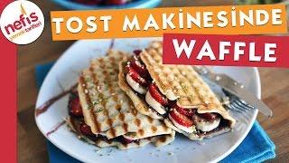 Tost Makinesinde Waffle Nasıl Yapılır?