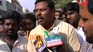 Raja Singh BJP Corporator 'alleged' attackers arrested at Nampally Court in Hyderabad