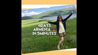 4Days ARMENIA in 5minutes!