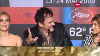 Inglourious Basterds Full Press Conference - Cannes Film Festival 2009