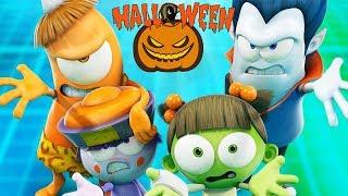 Funny Animated Cartoon | Spookiz | 🎃 👻 Halloween Party 👻 🎃 | 스푸키즈 |  Cartoon For Children