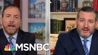 Joe: Ted Cruz Is Choosing To Ignore US Intel Leaders | Morning Joe | MSNBC