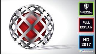 Best 3D Logo Design CorelDraw X8Tutorial