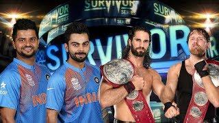 Virat Kohli & Suresh Rain VS Seth Rollins & Dean Ambrose