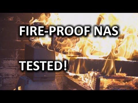 BURN TEST IOSafe N2 Fireproof & Waterproof NAS