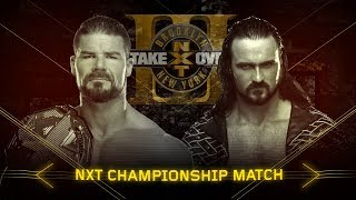 Drew McIntyre is out to fulfil a prophecy against NXT Champion Bobby Roode at Takeover: Brooklyn III