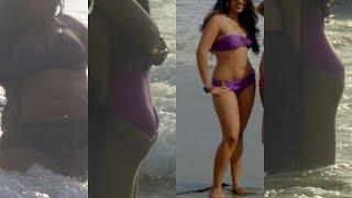 Hot Indian bikini girls in Goa || 2017 || Indian girls in swimsuit having fun at Candolim beach
